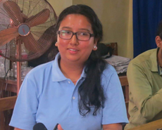 HART's new Communications Officer, Anjani Gurung