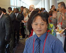 Chandra Rai at the HSI Expo 2014
