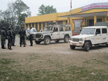 HART was provided with an armed police escort to Korak