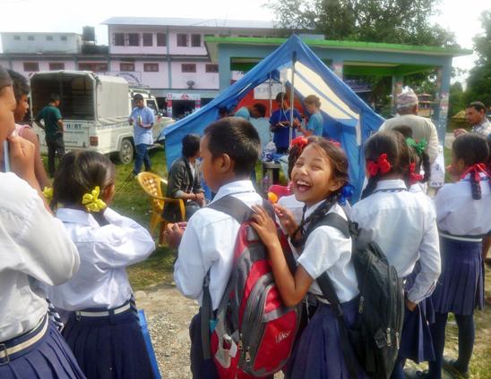 Neutering & vaccination camp in Lekhnath