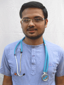Dr Narayan Acharya, HART's new vet