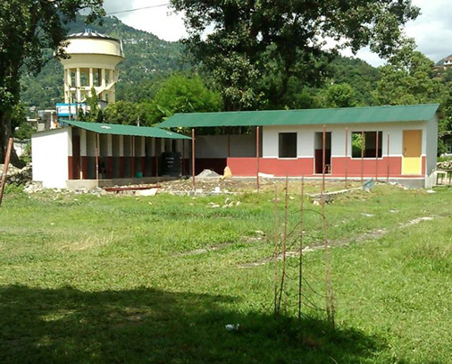 New Pokhara clinic & kennels - construction nearly completed!