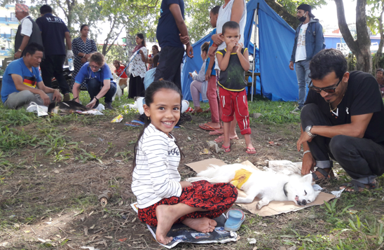 Spaying camp at Pokhara Lakeside