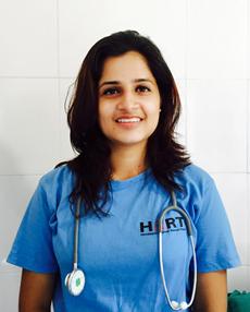 Dr Sajita Gyawali, HART's first lady vet