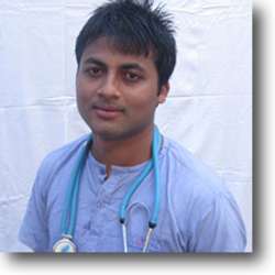 Dr Subash Acharya is HART's latest veterinary recruit